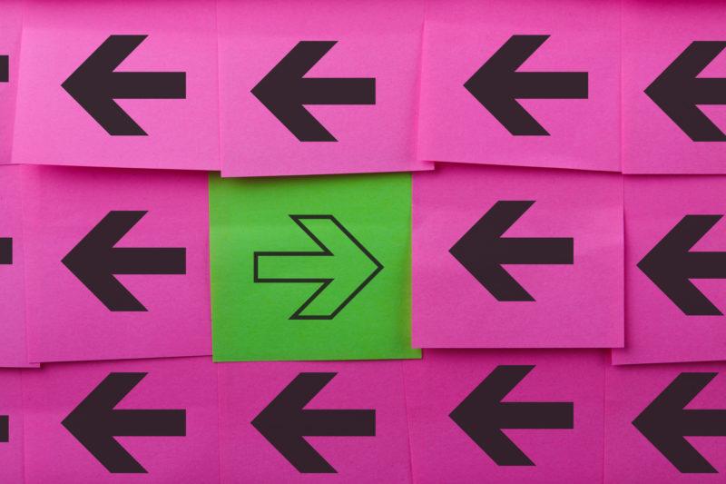 Battling underlying organisational forces